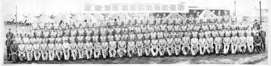 Headquarters and Service Company Camp Claiborne June 1942